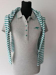 2er KANGAROOS Damen Polos Shirts T-Shirt lang und kurzarm Gr. 36/38 40/42 44/46