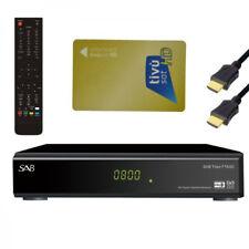 HD Titan HDTV sat receiver para TivuSat Mediaset incl. tivu sat tarjeta HD activado