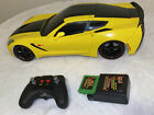 New Bright Corvette 20 R/C 1:8 Scale With Remote Charger And Battery
