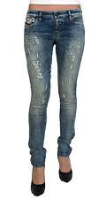 Diesel Damen Stretch Jeans SKINZEE-LOW 0851B Skinny blau Gr. 28/32 NEU