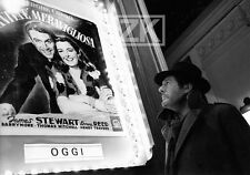 MARCELLO MASTROIANNI Scola CINEMA SPLENDOR Affiche CAPRA Stewart Photo 1989