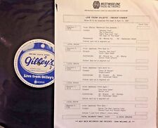 RADIO SHOW: LIVE FROM GILLEY'S  FREDDY FENDER 4/13/87 12 TUNES LIVE IN CONCERT