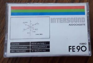 INTERSOUND  FE90  Audio Kassette , tapes compact cassette MC