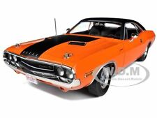 "1970 DODGE CHALLENGER R/T ORANGE ""FAST & FURIOUS"" MOVIE 1/18 BY GREENLIGHT 12947"