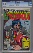 IRON MAN #128 CGC 9.4 WHITE PAGES
