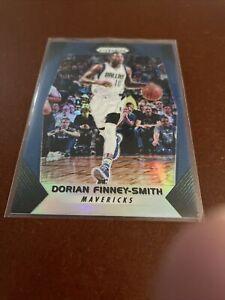 2017-18 Panini Prizm Dorian Finney-Smith BLUE PRIZM SP! #'d 097/199!