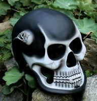 Helm Totenkopf Motorradhelm Totenkopfhelm Dekohelm Skullhead Skull Biker Helme