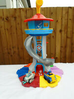 Paw Patrol My Size Look Out Tower Playset With Chase Marshall & Everest