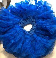 Huge Vintage Petticoat Blue Kroenings Fashion Magic