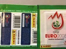 Panini Euro 2008 - Pochette Green Vert !!!!!RARE!!!! code bare au verso