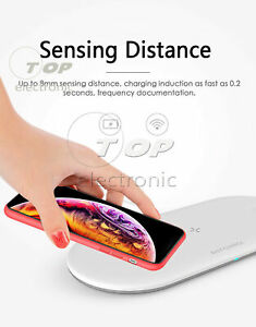 3In 1 Qi Wireless Charger Fast Charging Pad For Apple Watch iWatch iPhone X/8