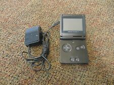 Nintendo Game Boy Advance SP Handheld System -Black AGS - 001 with Charger