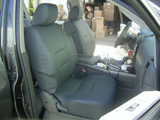 IGGEE S.LEATHER CUSTOM FIT SEAT COVER FOR 2004-2011 NISSAN ARMADA