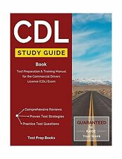 CDL Study Guide Book: Test Preparation & Training Manual for th... Free Shipping