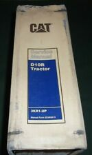 CAT CATERPILLAR D10R CRAWLER TRACTOR DOZER SERVICE SHOP REPAIR MANUAL S/N 3KR