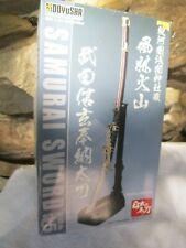 DOYUSHA SAMURAI SWORD 1/3  SW5  2000 PLASTIC MODEL KIT IN BOX OPENED