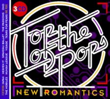 Top of The Pops  - New Romantics (3 CD set) totp various artists NEW & SEALED