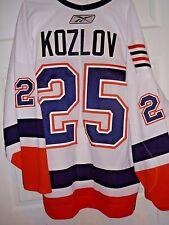 VIKTOR KOZLOV GAME WORN USED ISLANDERS JERSEY 4 GOALS VS RANGERS HAND SIGNED