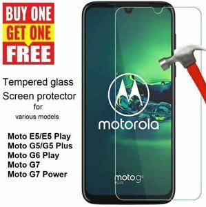 Gorilla Tempered Glass Screen Protector For Moto G30 G7 G8 Power Lite E5 G5 Plus
