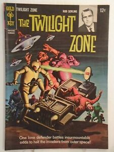 Gold Key THE TWILIGHT ZONE #14 (1966) George Wilson Painted Cover HIGH GRADE