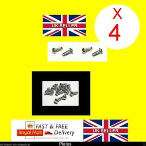 4 x 2mm RIVETS Car or Trailer VIN Plate Chassis motor cycle quad bike Trailer x4