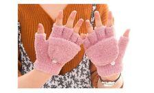 Winter New Flip Fingerless Mittens Fingerless Gloves Winter Gloves