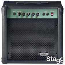 """NEW Stagg 40 Watts 3 Band EQ Bass Guitar Amp with 10"""" Speaker and Metal Grille"""