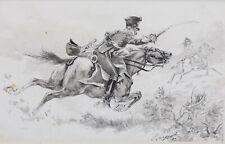 Lucien Pierre SERGENT (1849-1904) Cavalier Hussard napoléon Isidore Pils Massy