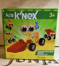 kid knex Construction Crew Building Set 23 Piece. Open Box Never Used Sealed.