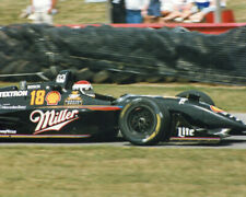 1996 Indy Driver BOBBY RAHAL Glossy 8x10 Photo Mid-Ohio Course Poster Print