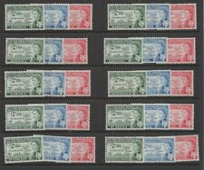 1958 West Indies Federation complete set 30 MLH lightly mounted mint stamps