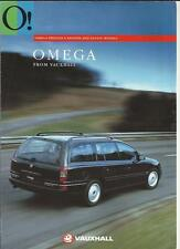 VAUXHALL OMEGA EDITION S,  SALOON AND ESTATE MODELS SALES BROCHURE 1994