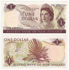 NEW ZEALAND $1 Replacement Star Note P163d HARDIE  UNC Banknote Y92