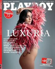 Playboy 5/2014 front Luxuria Astaroth,in:Dani Mathers,Kevin Spacey,Patty Duffek