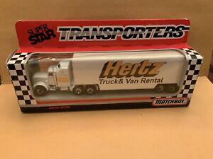 "Matchbox Convoy CY-36 Kenworth Transporter ""Hertz"" Boxed See Description"