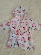 New listing Baby Girl luvable friends Floral Bath robe 0-9 Months