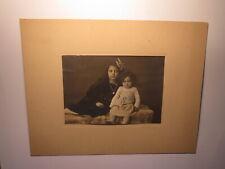 2 Kinder - Mädchen und Kleines Mädchen - 1920 / Foto Jos. Fischer Konstanz