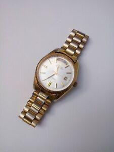 Vintage Ricoh Medallion 17J Automatic Day-Date President GP Men's Watch