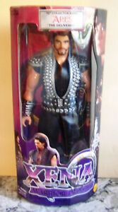 """XENA - ARES THE DELIVERER 12"""" ACTION FIGURE DOLL - SIGNED BY KEVIN SMITH TWICE"""