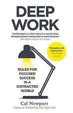 NEW Deep Work By Cal Newport - Paperback - Free Shipping