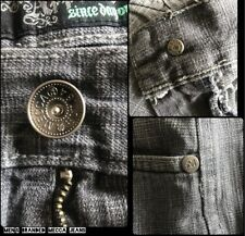 Men's Branded Mecca Hip Hop Style Relaxed Jeans 40 Big & Tall