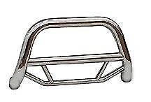 2008-2012 Jeep Liberty Super Bumper Guard Push Bull Bar in Stainless Steel