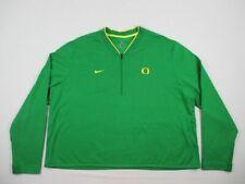 NEW Nike Oregon Ducks - Men's Green Dri-Fit Pullover (3XL)