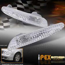 2003-2006 Mercedes Benz W211 E-Class E320 E350 E500 Side Marker Bumper Lights