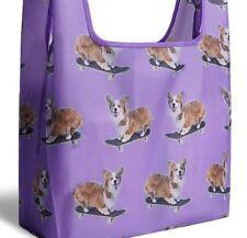 Pembroke Welsh Corgi Dog 💕 Reusable Foldable Shopping Tote Bag Free Shipping