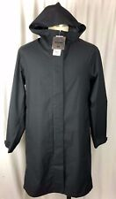 NEW Uniqlo Blocktech Rain Coat Jacket Black Extra Large XL Womens Hood HTF