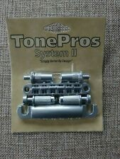 TonePros System II LPM02 - Satin Chrome from ESP LTD Truckster