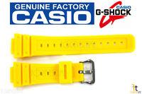 CASIO G-Shock DW-5600P-9 Original 16mm Yellow Rubber Watch BAND DW-5600FS-9