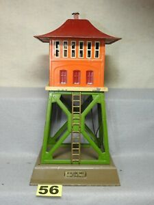 LIONEL STANDARD GAUGE #438 SIGNAL TOWER, COMPLETE, ALL ORIGINAL, NEEDS CLEANING