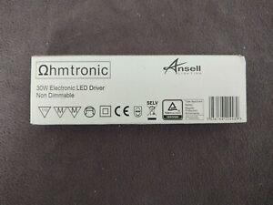 Ansell electronic led driver 30W